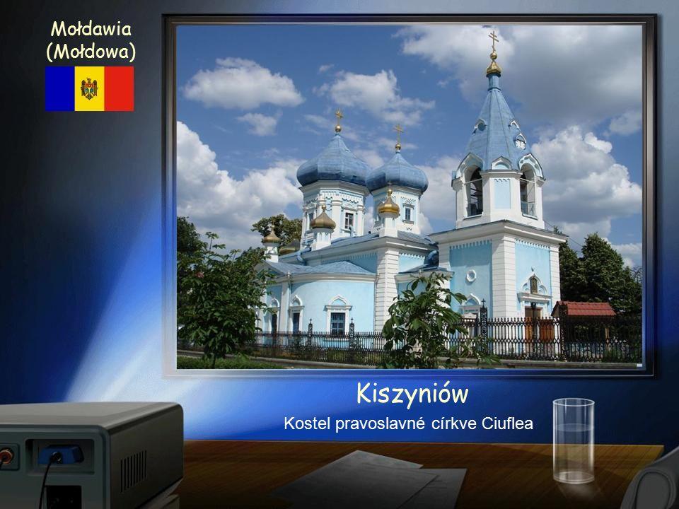 Kiszyniów - Kišiněv Kostel narození Páně Moldavie (Mołdowa)
