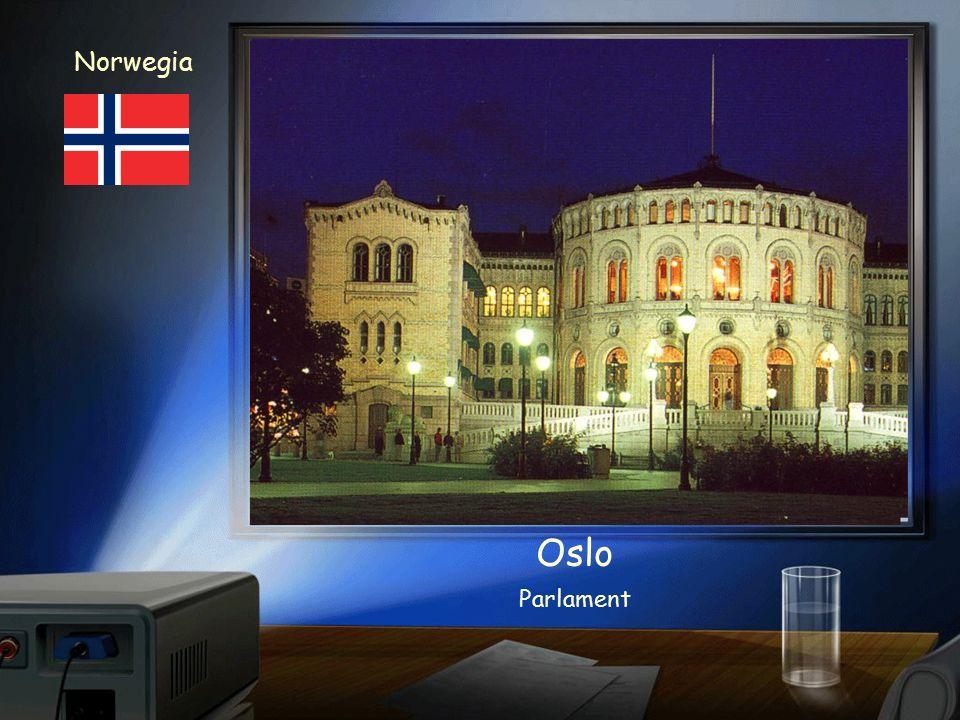Norwegia Norsko Oslo Hrad Akershus