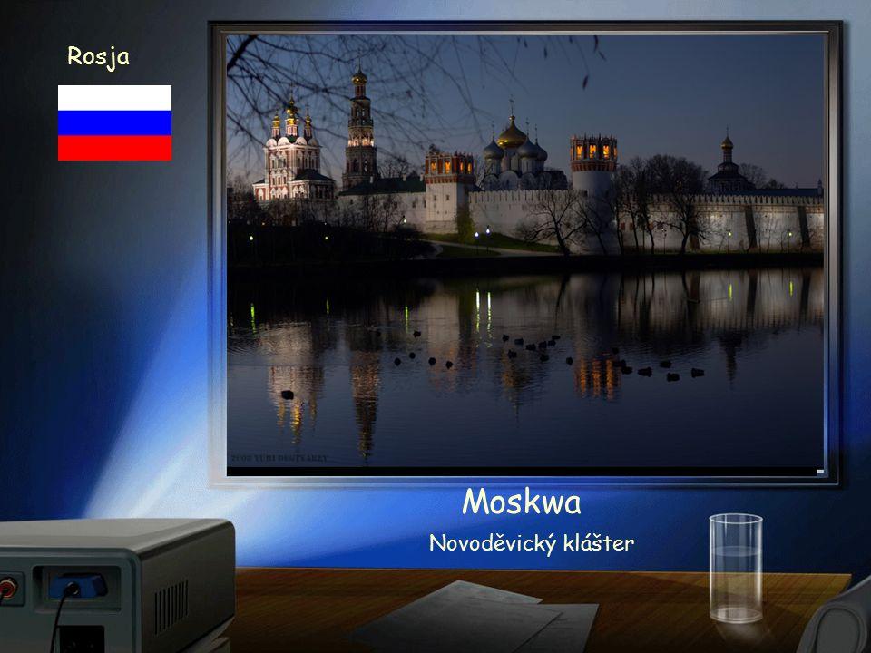 Rosja Moskwa Chrám Vasila Blaženého