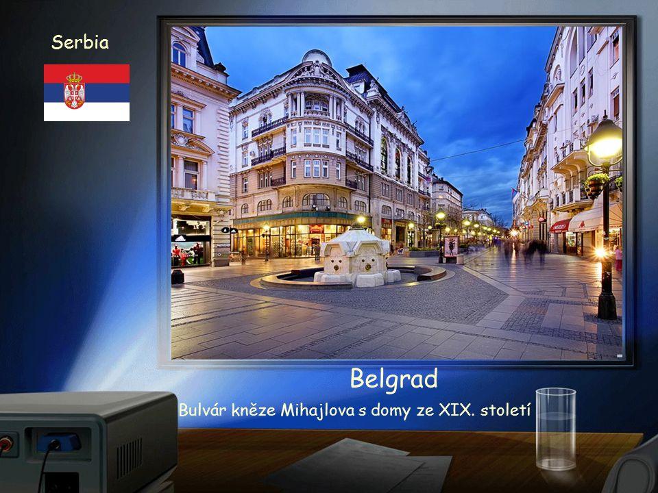 Serbia Srbsko Belgrad - Bělehrad Pravoslavná bazilika Sveti Sava