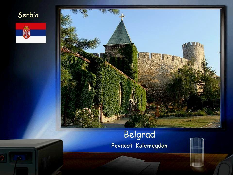 Serbia Belgrad Pevnost Kalemegdan