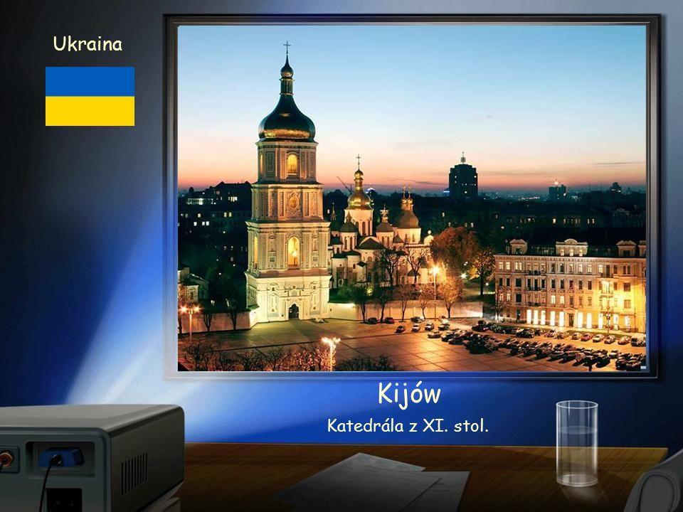 Ukraina Kijów - Kijev Chrám pravoslavné církve Ławra