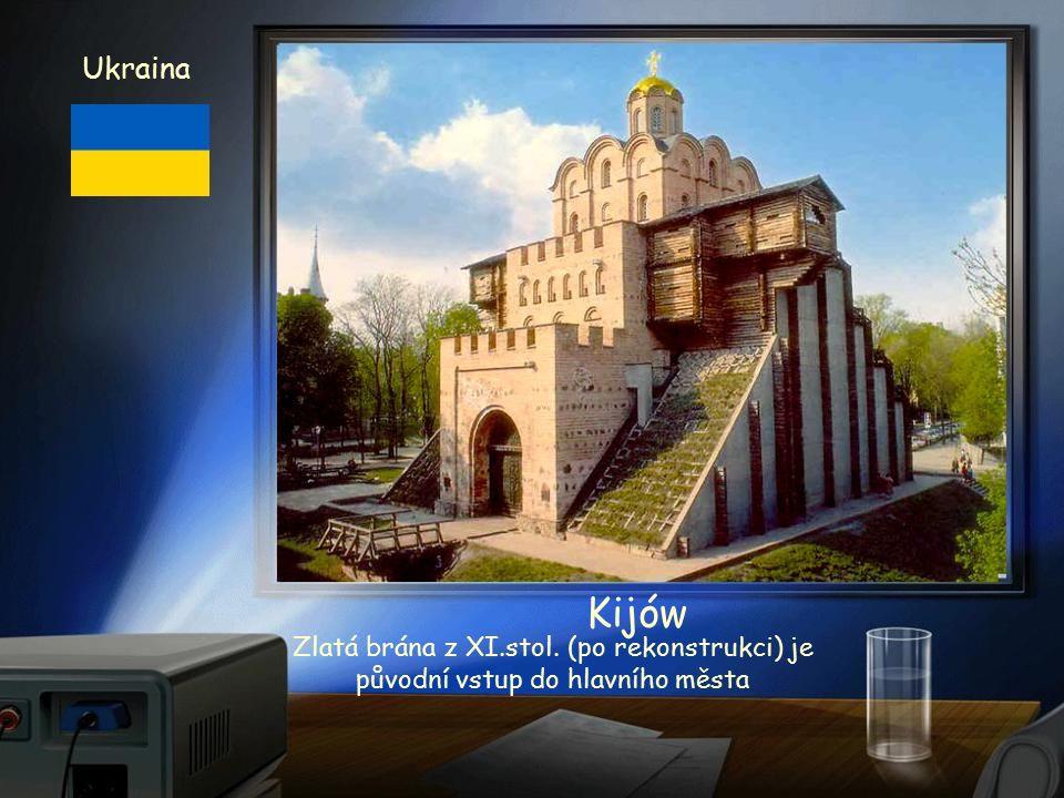 Katedrála z XI. stol. Ukraina Kijów