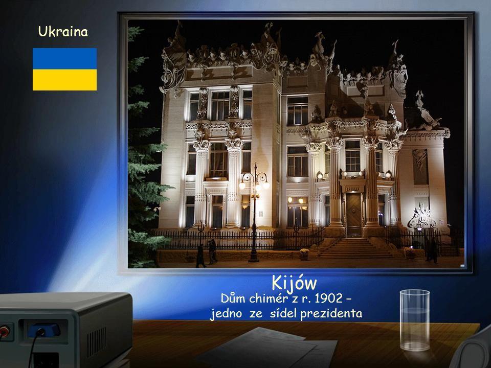Ukraina Kijów Parlament Ukrajiny