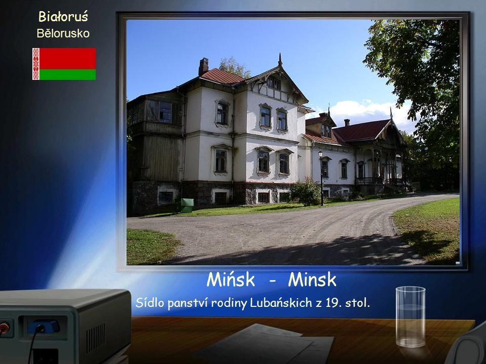 Białoruś Bělorusko Mińsk - Minsk Kostel Alexandra Něvského 19. století