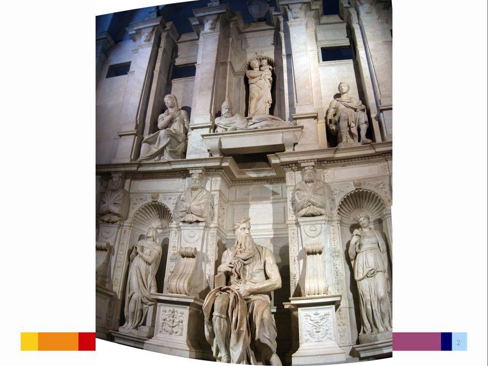 Součást náhrobku papeže Julia II.Chrám sv.
