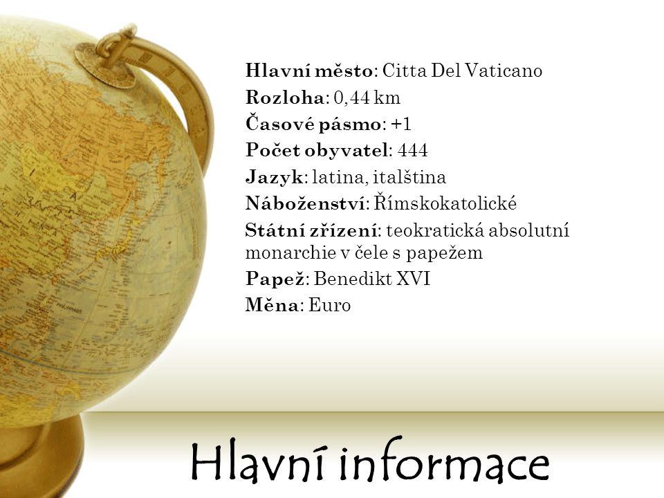 Ekonomika Oficiální měnou je od roku 1999 euro, které nahradilo vatikánskou liru.