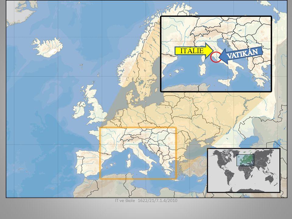 Datum vzniku: 1871 Rozloha: 0,44 km² Státní zřízení: církevní stát Forma vlády: absolutistická teokratická monarchie Hlava státu (2006): BENEDIKT XVI.