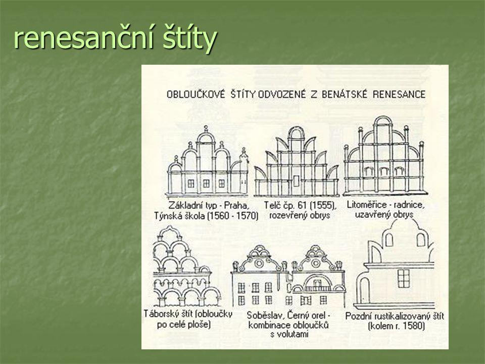 renesanční štíty