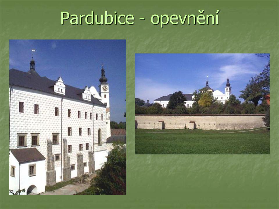 Pardubice - opevnění