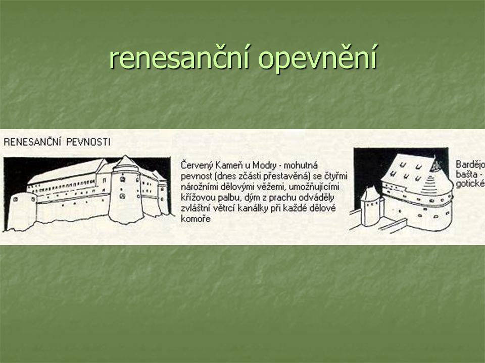 renesanční opevnění