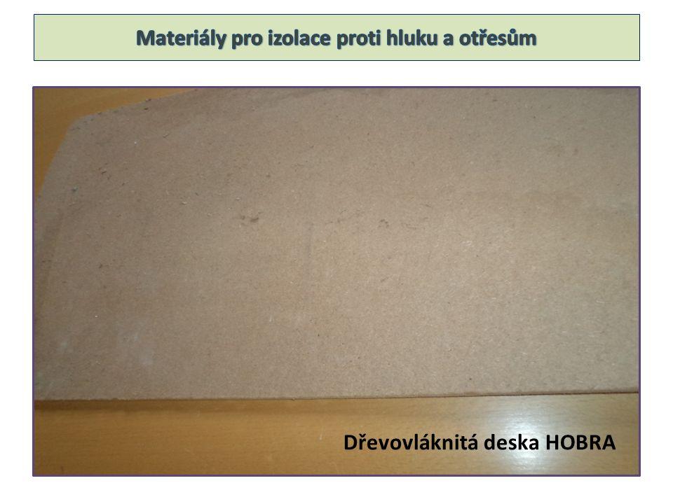 Dřevovláknitá deska HOBRA