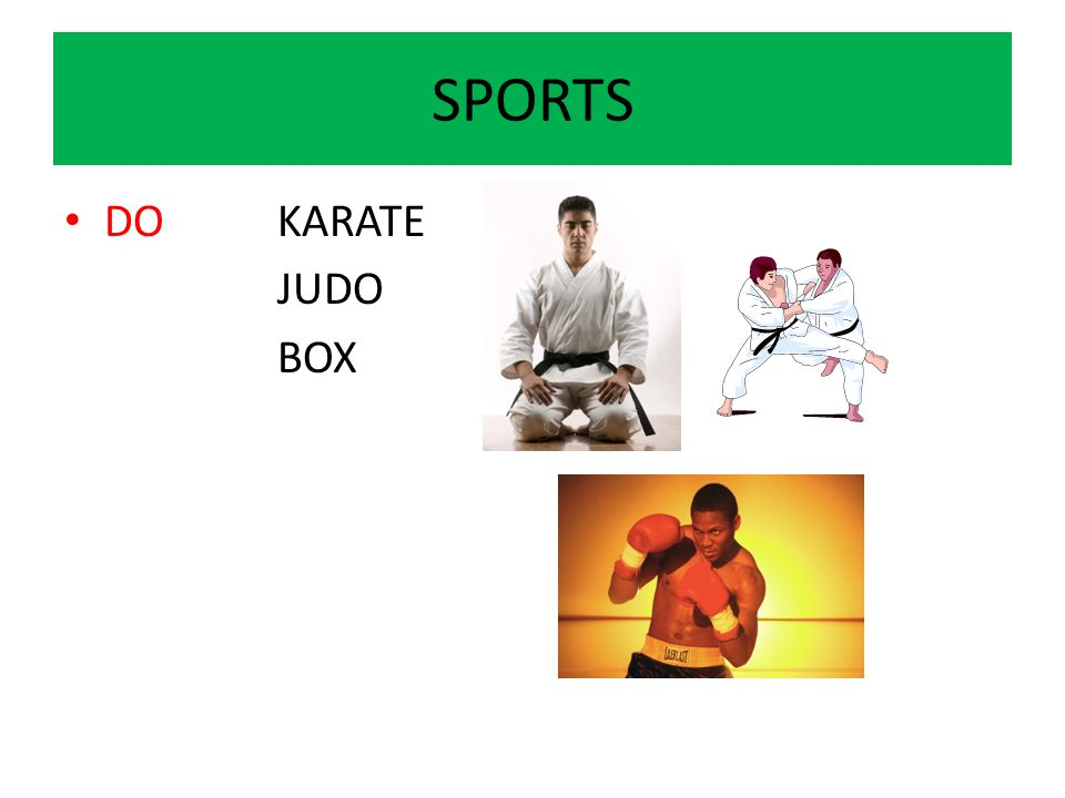 SPORTS DOKARATE JUDO BOX