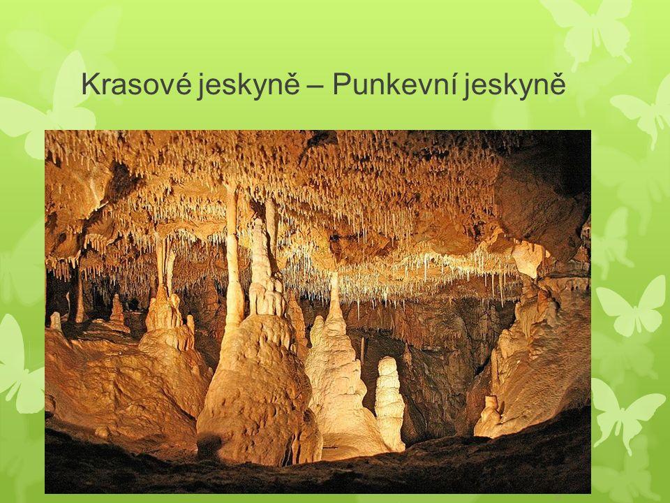 Krasové jeskyně – Punkevní jeskyně