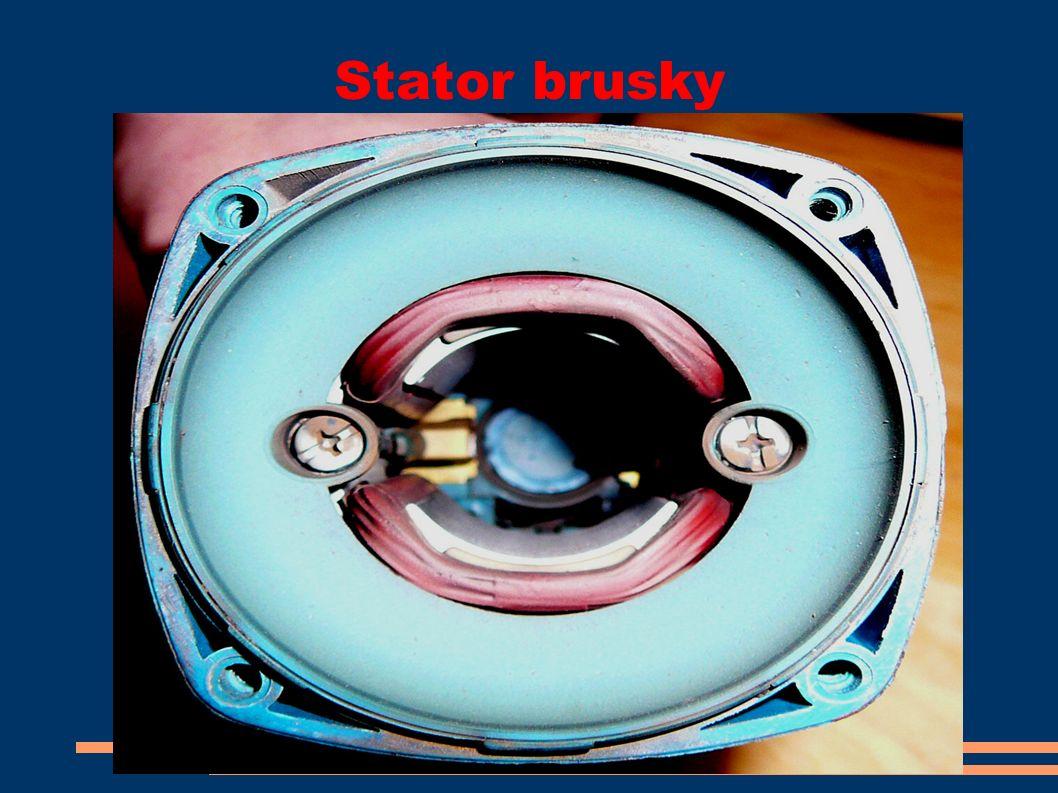 Stator brusky