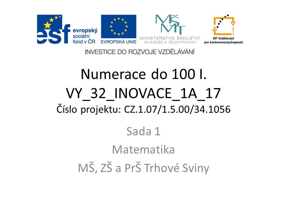 Anotace: V tomto materiálu si žáci procvičují sčítání do 100 s přechodem desítky.