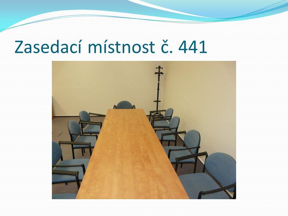 Zasedací místnost č. 441