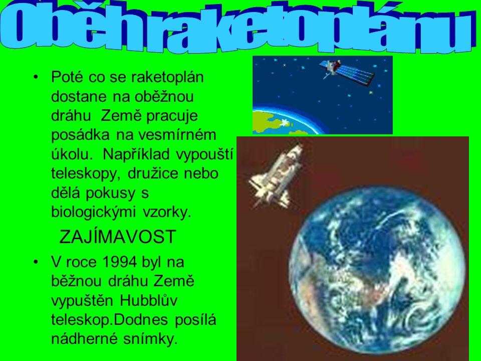 Poté co se raketoplán dostane na oběžnou dráhu Země pracuje posádka na vesmírném úkolu.
