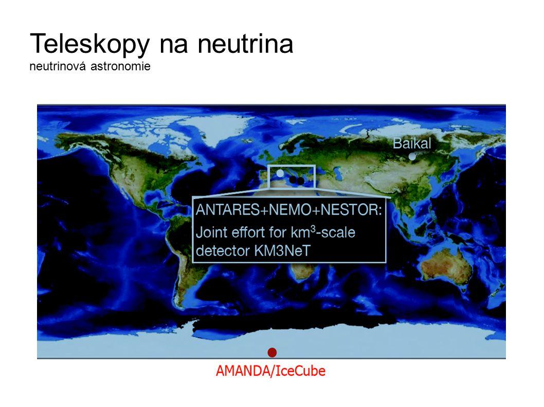 Teleskopy na neutrina neutrinová astronomie