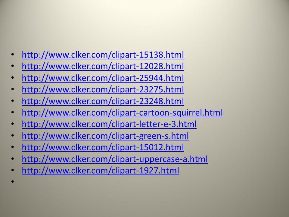 http://www.clker.com/clipart-12201.html http://www.clker.com/clipart-12176.html http://www.clker.com/clipart-12190.html http://www.clker.com/clipart-1