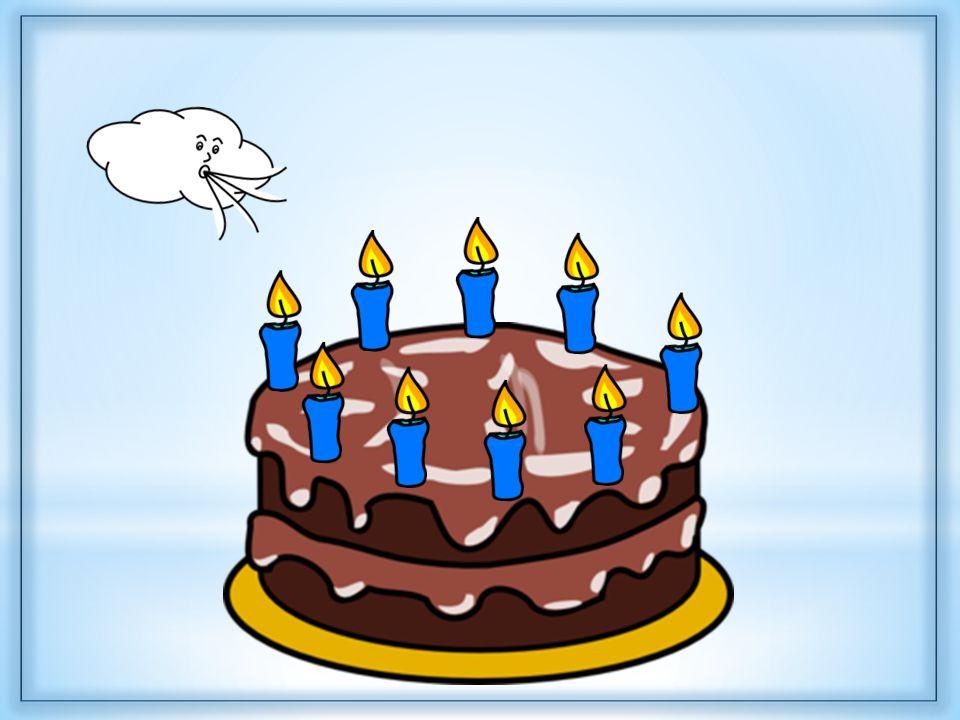 4. cvičení Na dortu hořelo 9 svíček. Čtyři svíčky zhasly. Kolik svíček zůstalo hořet