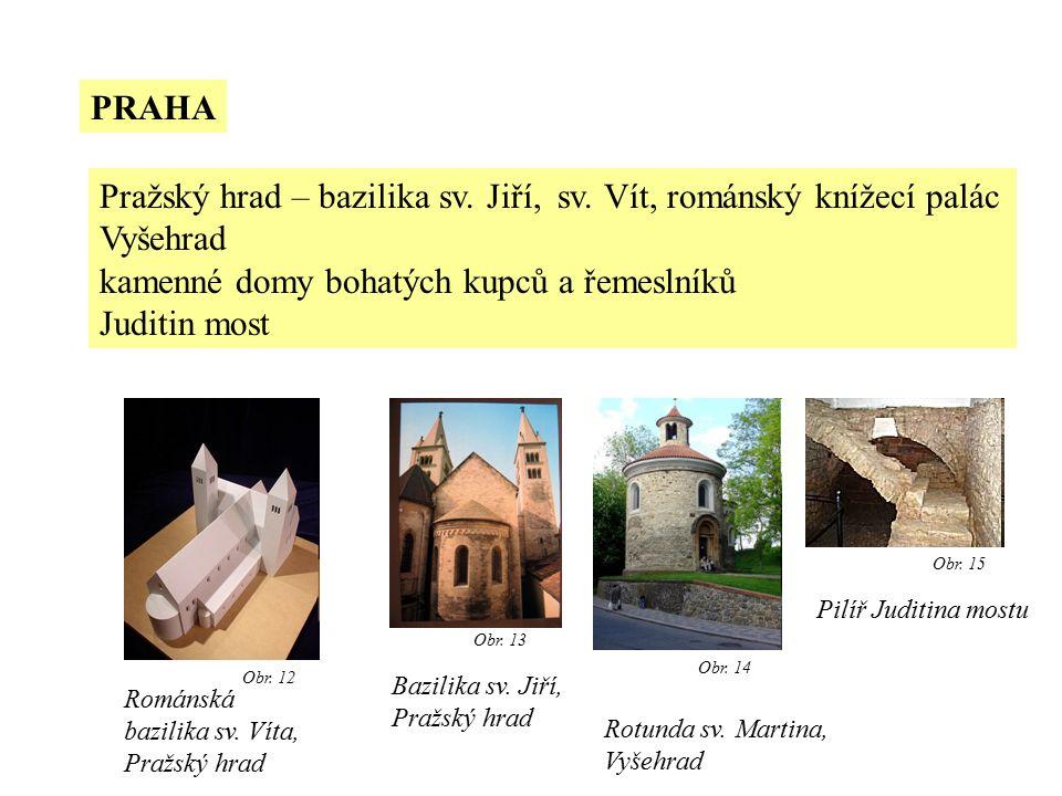 PRAHA Pražský hrad – bazilika sv.Jiří, sv.