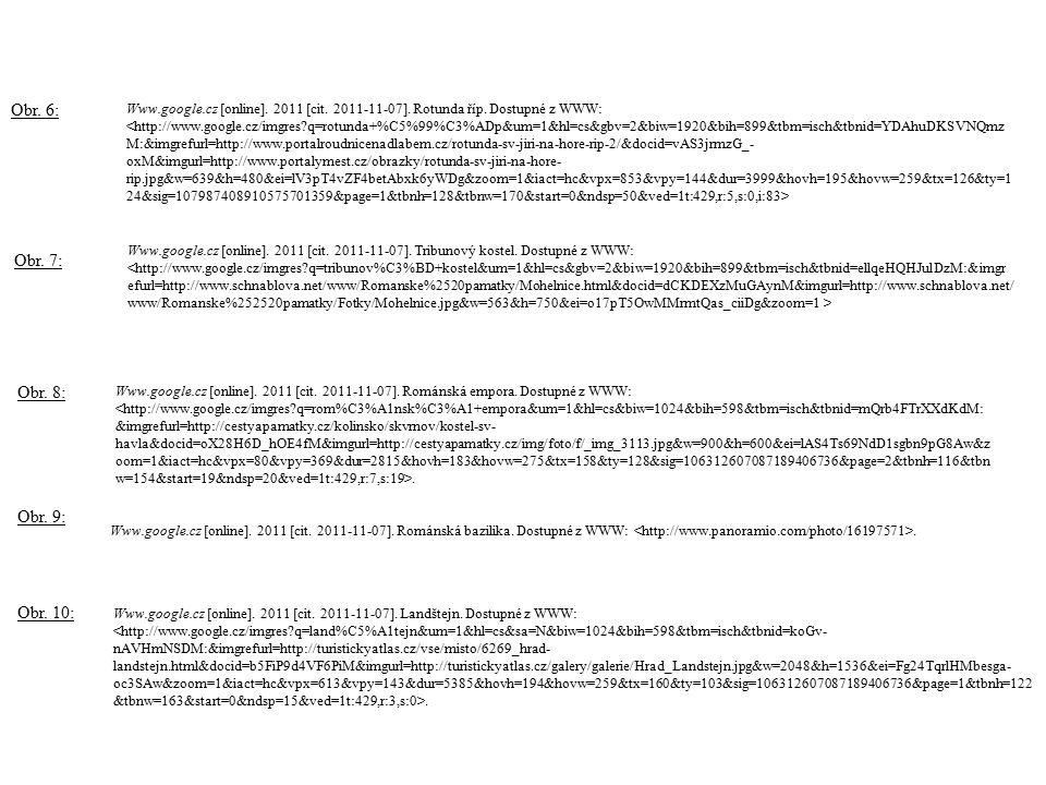 Www.google.cz [online].2011 [cit. 2011-11-07]. Rotunda říp.