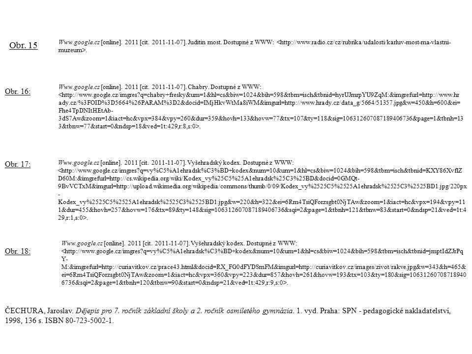Www.google.cz [online].2011 [cit. 2011-11-07]. Chabry.
