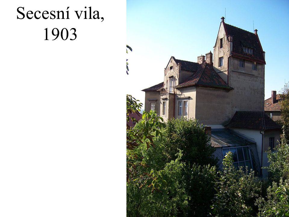 Secesní vila, 1903