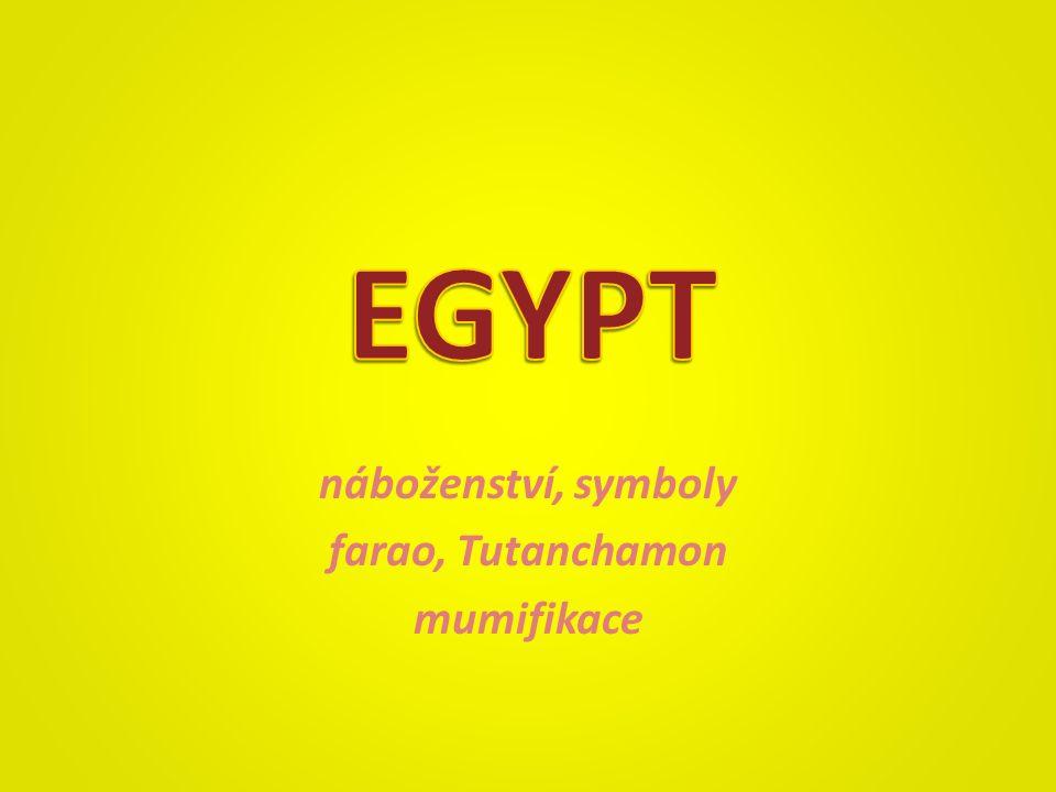 náboženství, symboly farao, Tutanchamon mumifikace