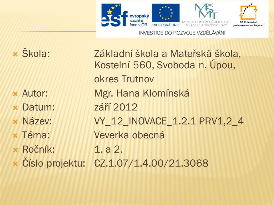  Materiál slouží k procvičování čtení s porozuměním v hodinách prvouky nebo českého jazyka pro věk 6 až 8 let.