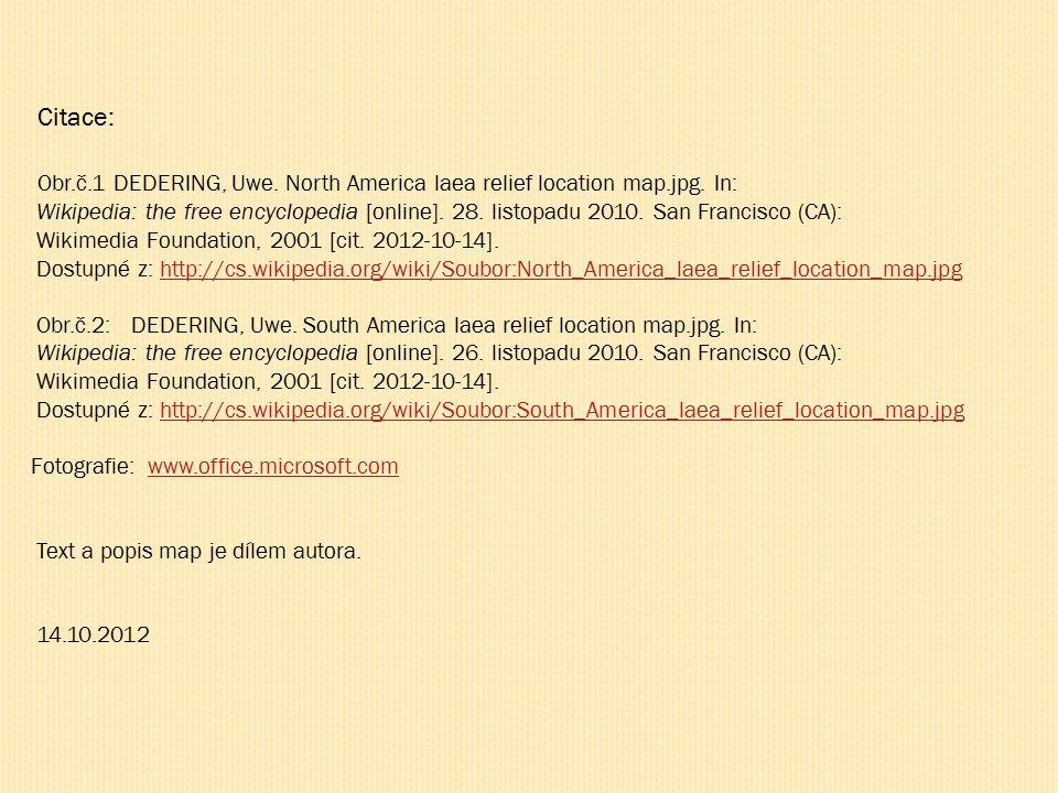 Obr.č.1 DEDERING, Uwe. North America laea relief location map.jpg.