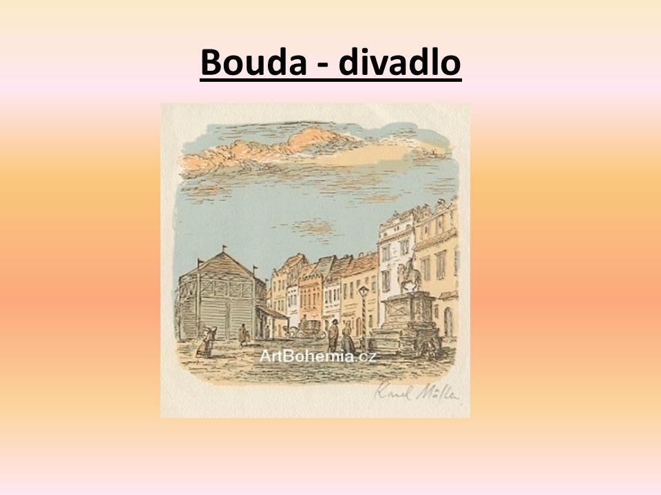 Bouda - divadlo