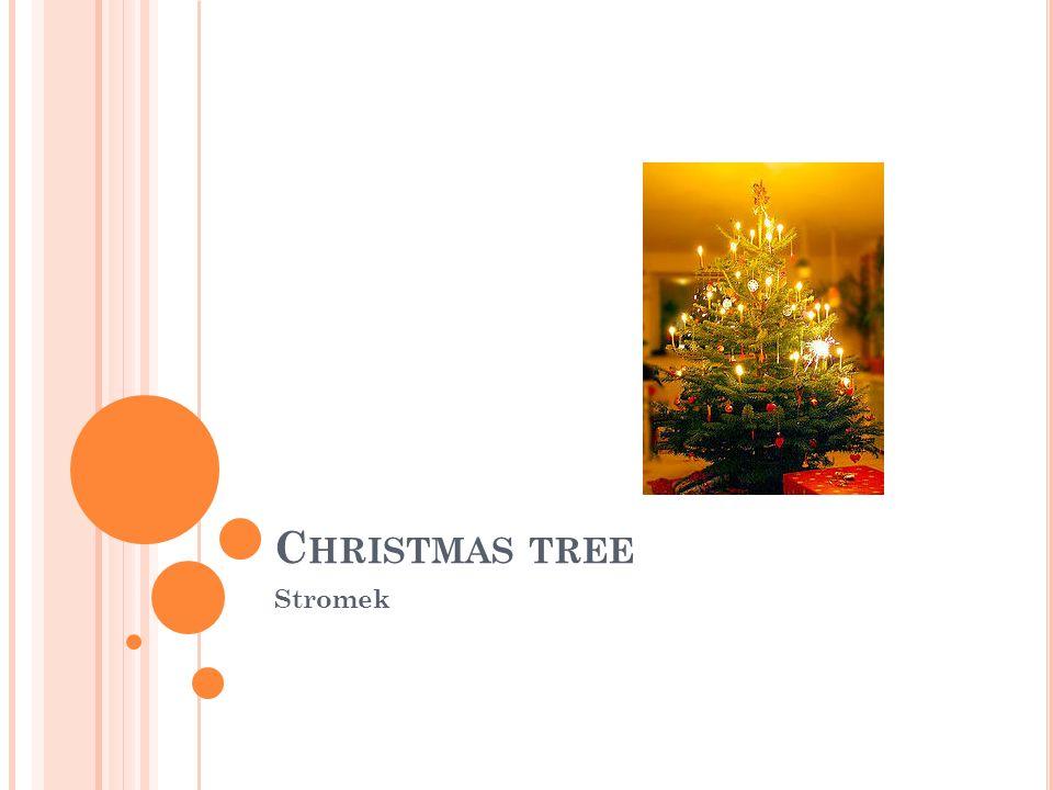 C HRISTMAS TREE Stromek