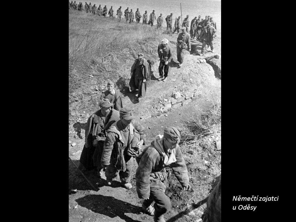 Němečtí zajatci u Oděsy