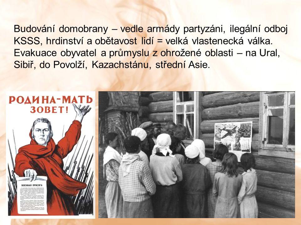 Poprava sovětských partyzánů