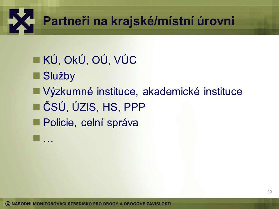 9 K čemu data na krajské/místní úrovni Analýza celostátní situace, meziregionální srovnání (viz výše) Plánování opatření, strategie (12/14 v ČR) Optimalizace sítě služeb (HR x agentury) Rozvoj nových služeb (následná péče) Rozvoj kvality, dostupnosti a efektivity služeb (HR Praha) Dotační tituly krajů a obcí (priority v kraji)