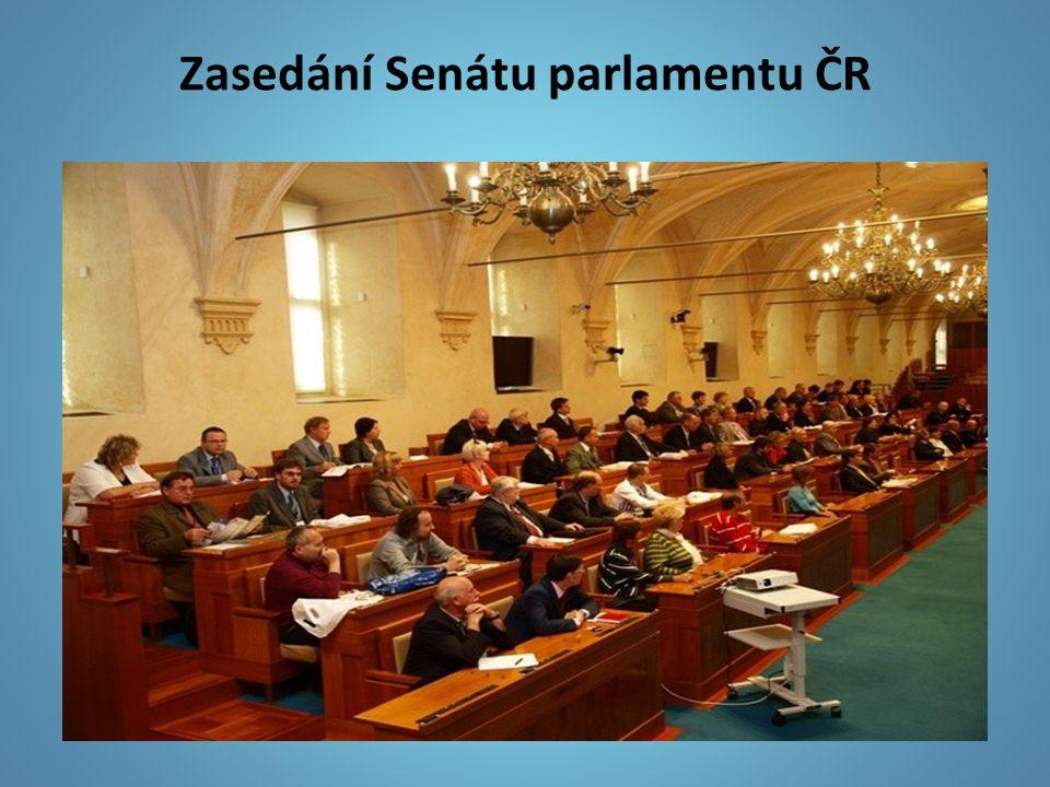 Zasedání Senátu parlamentu ČR