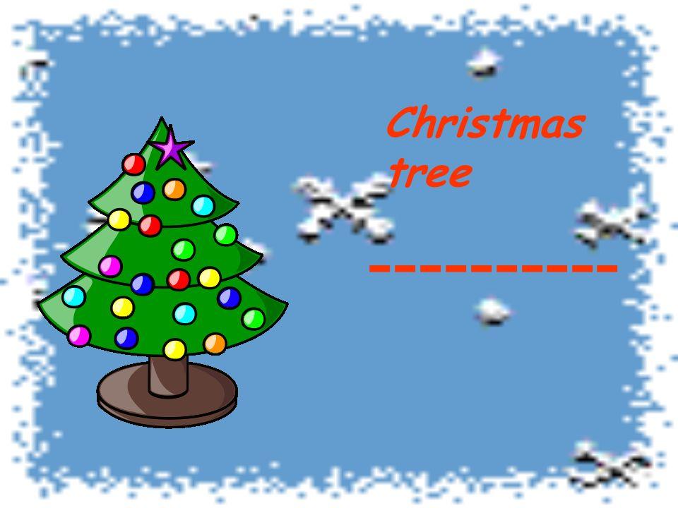 Christmas tree ----------