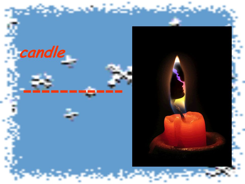 candle -----------