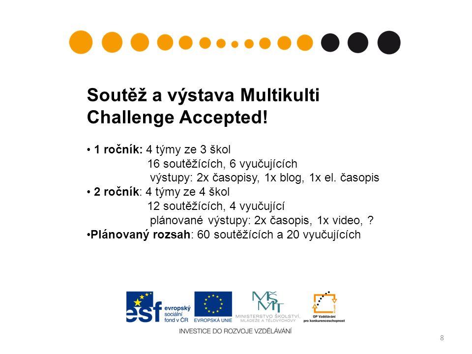8 Soutěž a výstava Multikulti Challenge Accepted.