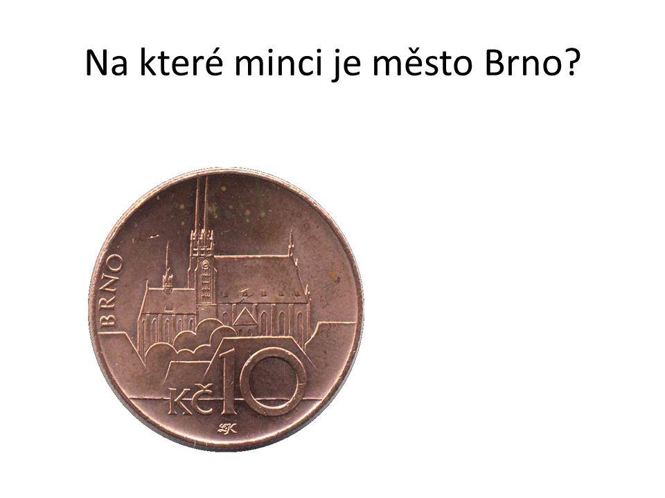 Na které minci je město Brno
