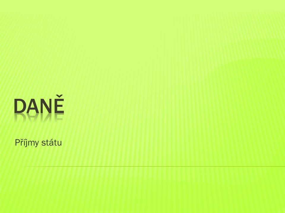 Příjmy státu