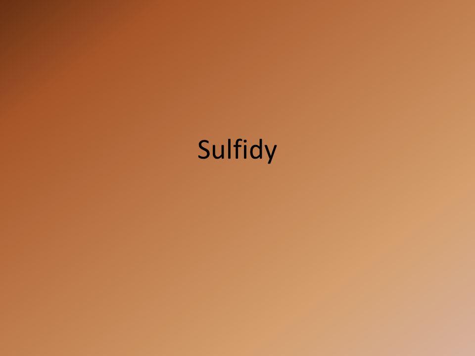 """OXIDY dvouprvkové sloučeniny sloučeniny kyslíku oxidační číslo kyslíku –II oxid sodný Na 2 O SULFIDY dvouprvkové sloučeniny sloučeniny síry oxidační číslo síry –II sulfid sodný Na 2 S """"Sulfidy jako oxidy"""