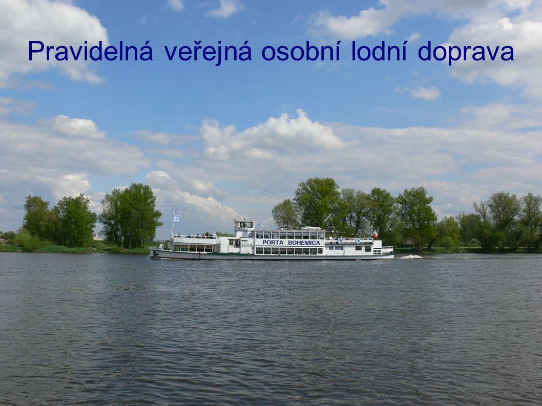 Pravidelná veřejná osobní lodní doprava