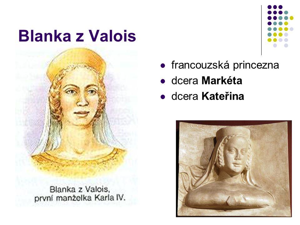 Anna Falcká korunována českou královnou syn Václav (†)