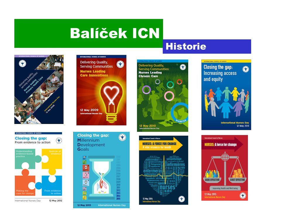 Balíček ICN Historie