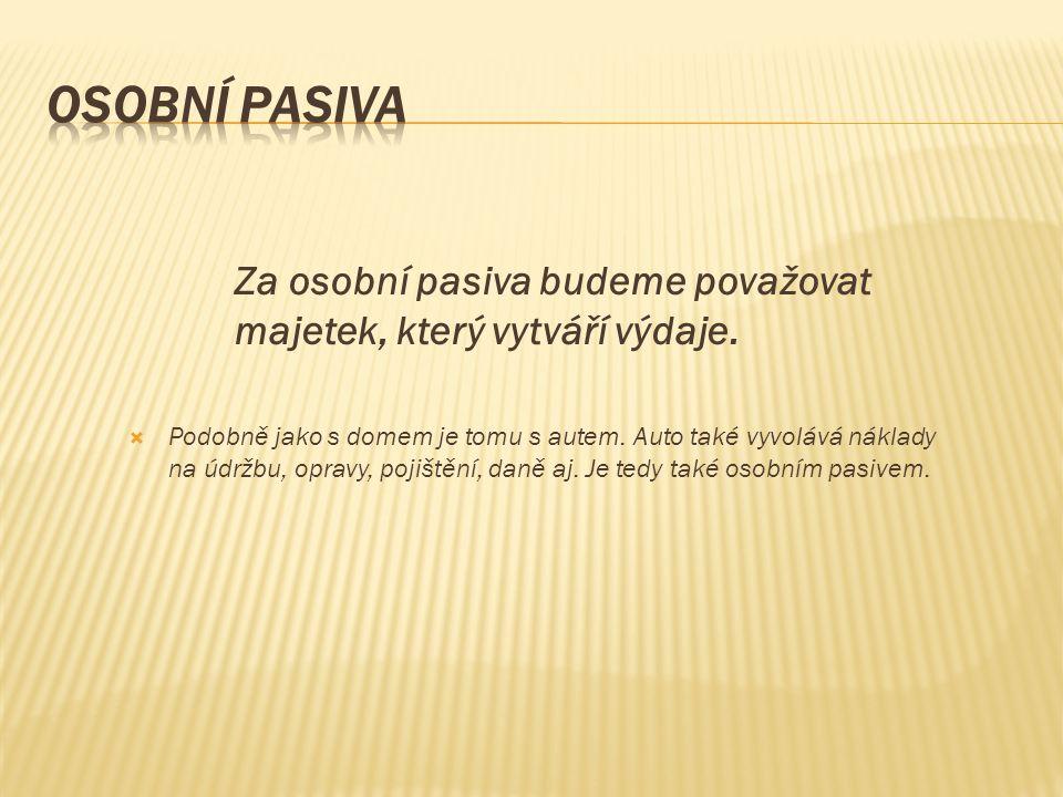 Co jsou osobní pasiva???.