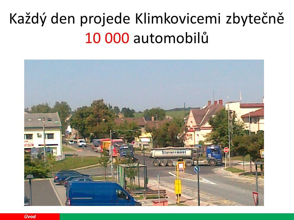 16 Úvod Každý den projede Klimkovicemi zbytečně 10 000 automobilů