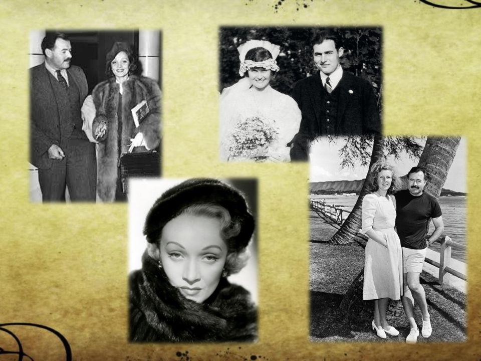 Život 1899 - narození v Illinois – rodina lékaře dobrovolník Červeného kříže – těžce raněn pobyt v Evropě - Paříž 1928 - návrat do USA –> život s manželkou na Floridě 1936 - válečný zpravodaj ve španělské občanské válce 1940 - odešel na Kubu –> skutečný domov zahraniční zpravodaj ve 2.